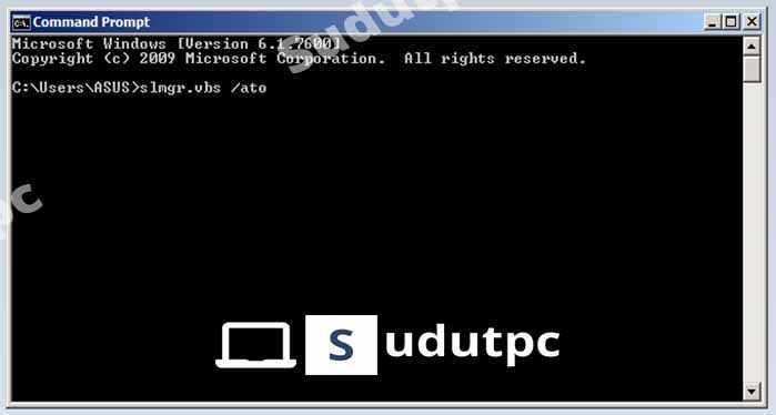 Cara melakukan aktivasi Windows 10 dengan CMD