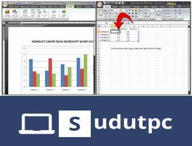Hasil perubahan 2 data Microsoft Word
