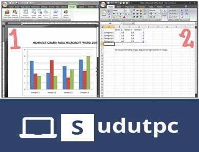Membuat grafik dengan 2 data
