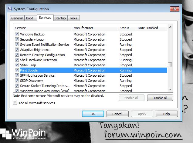 Mempercepat Windows 7 di laptop