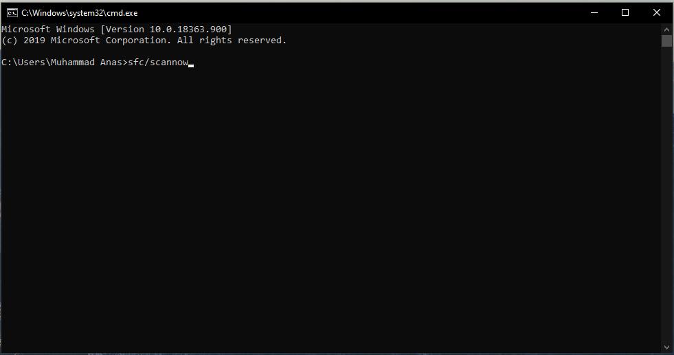 Cara mengatasi blue screen Windows 10 dengan CMD