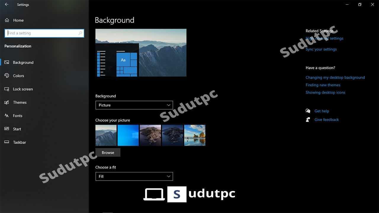 Cara Mengganti Wallpaper Laptop Windows 7 8 10 Lengkap
