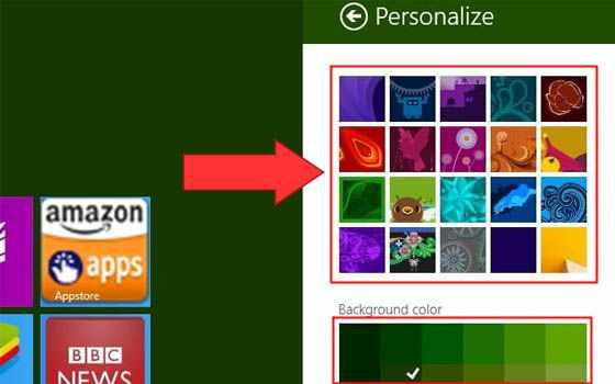 Cara mengganti wallpaper di laptop Windows 8