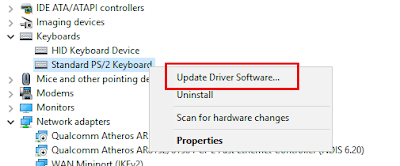 Update driver keyboard