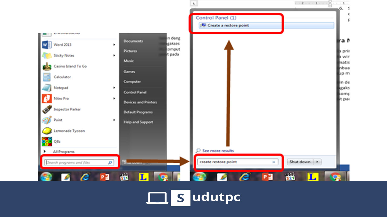 Cara membuat system restore point Windows 10
