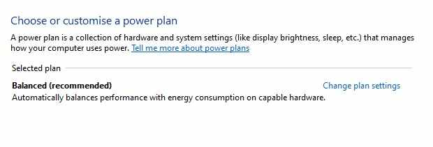 Mengatur dan melakukan setting daya baterai laptop