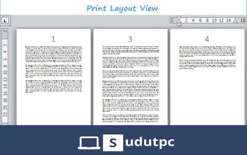 cara menghapus halaman di word yang sudah di page break