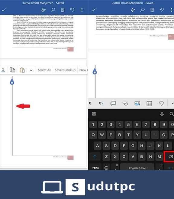 cara menghapus halaman di word yang tidak bisa dihapus