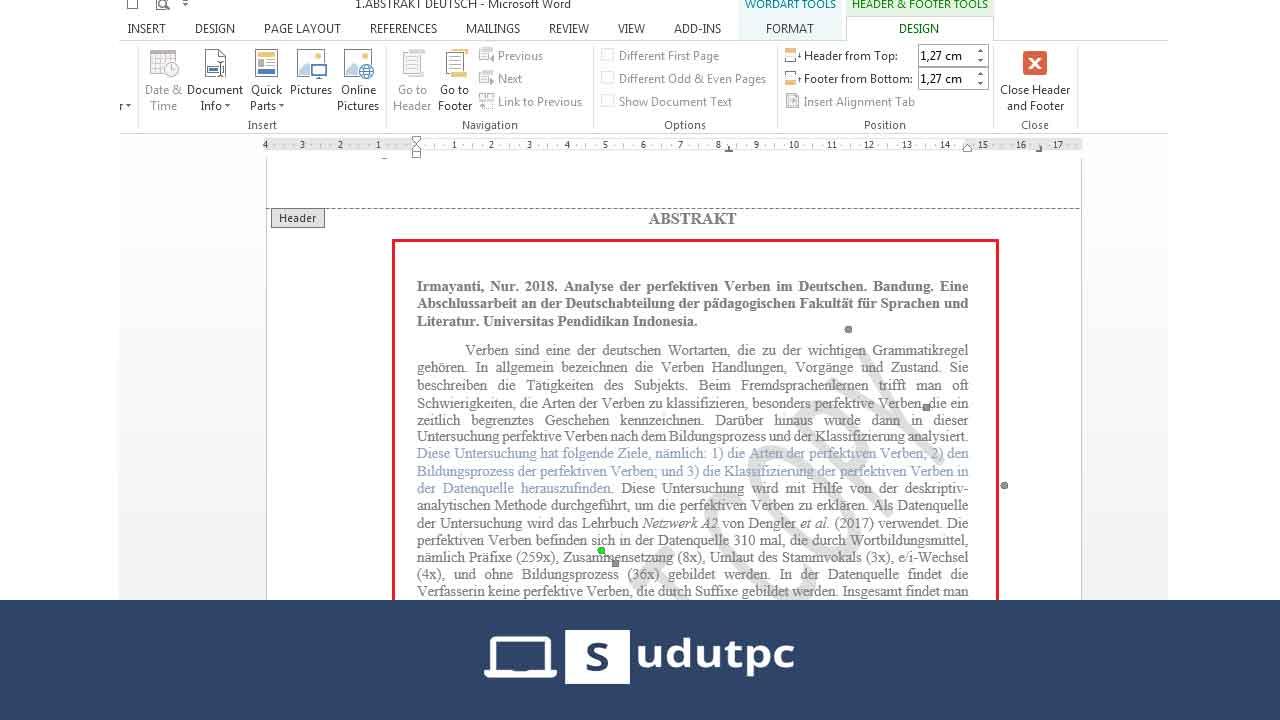 cara menghilangkan watermark di word yang terkunci