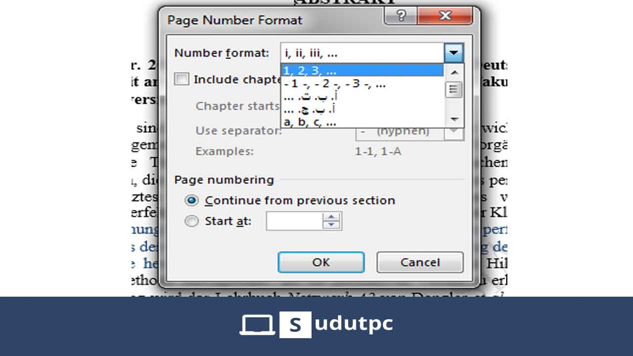format-page-number